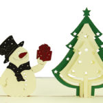 Pop-Up-Karte-Tannenbaum-Schneemann-Weihnachten-bremer-box-pic1